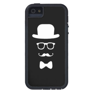 Hipster Face iPhone 5 / 5S Tough Xtreme iPhone 5 Cover