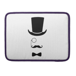 "Hipster Face Macbook Pro 13"" Sleeve"