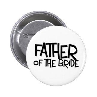 Hipster Father Bride Lite T 2 Inch Round Button
