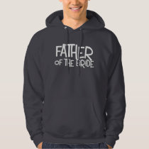 Hipster Father Bride Lite T Hoodie