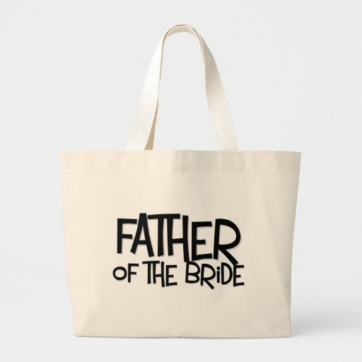 Hipster Father Bride Lite T Jumbo Tote Bag