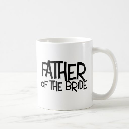 Hipster Father Bride Lite T Coffee Mugs