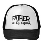 Hipster Father of the Groom Trucker Hat