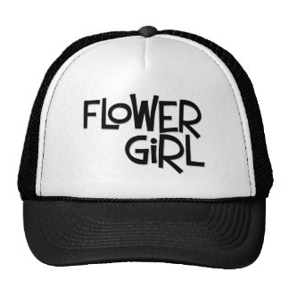 Hipster Flower Girl Trucker Hat