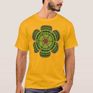 Hipster Flower Mens T-Shirt