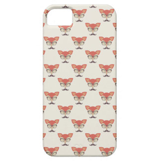 Hipster Fox iPhone 5/5S, Barely There Case iPhone 5 Cover