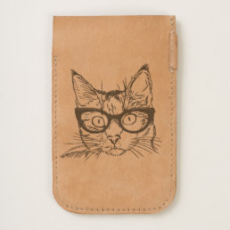 Hipster Freaky Funny Cat iPhone 6/6S Case