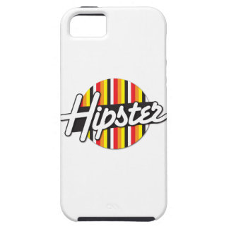 Hipster funky hip Rockabilly design iPhone SE/5/5s Case