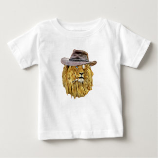 Hipster Funny Lion Cat T-shirt