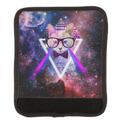 Hipster galaxy cat handle wrap