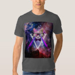 Hipster galaxy cat T-Shirt