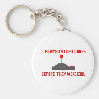 Hipster Gamer Key Chain