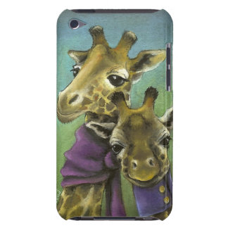 Hipster giraffes iPod touch cover