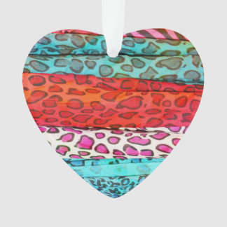 Hipster girly  abstract animal print pattern ornament