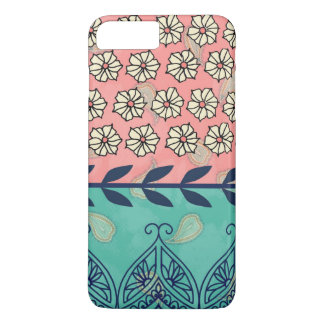 Hipster Girly Boho Paisley iPhone 7 Plus Case