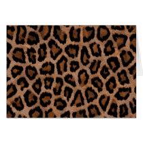 Hipster Girly Brown Black Leopard  Animal Print