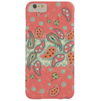 Hipster Girly Paisley Pattern iPhone 6 Plus Case