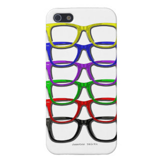 Hipster Glasses iPhone 5 glossy case