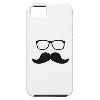Hipster Glasses Moustache iPhone SE/5/5s Case