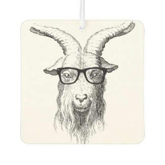 Hipster Goat Air Freshener