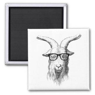 Hipster Goat Magnet
