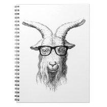 Hipster Goat Notebook