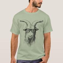 Hipster Goat T-Shirt