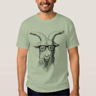 Hipster Goat Tee Shirt