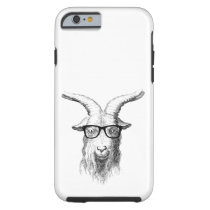 Hipster Goat Tough iPhone 6 Case