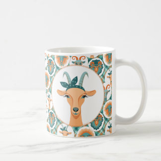 Hipster Goats   by TotallyGoatally™ Coffee Mug