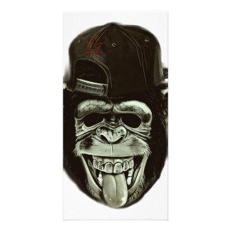 Hipster Gorilla Card