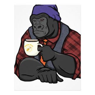 Hipster Gorilla Letterhead