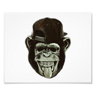 Hipster Gorilla Photo Print