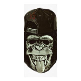 Hipster Gorilla Rack Card