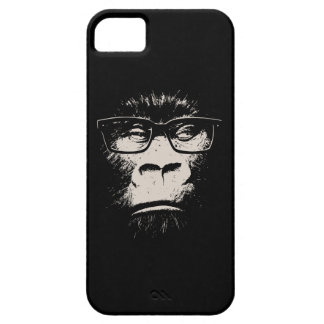 Hipster Gorilla With Glasses iPhone 5/5S Cases