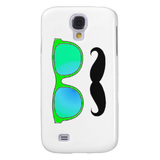 Hipster - Green Mirrored Shades Galaxy S4 Cover