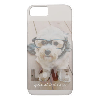 Hipster Instagram Photo Art - Love Color Overlay iPhone 7 Case