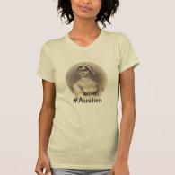 Hipster Jane Austen T Shirt