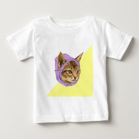 Hipster Kitty Cat Advice Animal Meme Baby T-Shirt