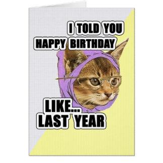 Meme Birthday Cards, Meme Birthday Card Templates, Postage ...