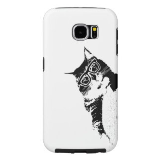 Hipster Kitty Phone Case