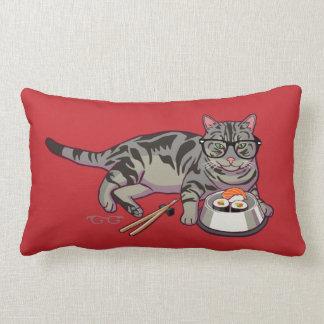 Hipster Kitty Pillow