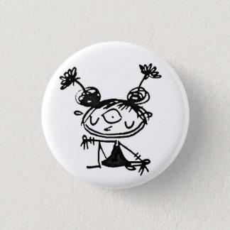 hipster lakshmi pinback button