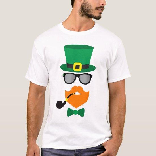Hipster Leprechaun T-Shirt