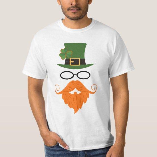 Hipster Leprechaun T-Shirt (2)