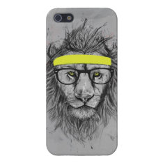 Hipster Lion Case For Iphone Se/5/5s at Zazzle