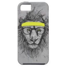 Hipster Lion Iphone Se/5/5s Case at Zazzle