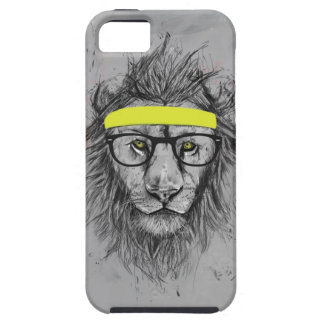 Hipster lion iPhone SE/5/5s case