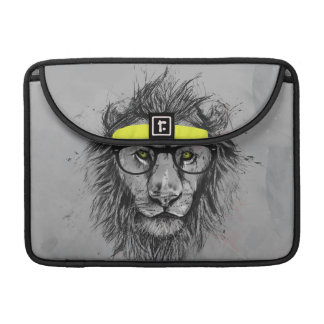 Hipster lion sleeve for MacBooks
