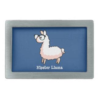 Hipster Llama Belt Buckle